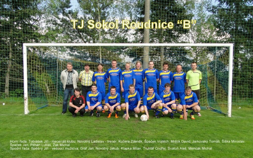 TJ Sokol Roudnice B 2013